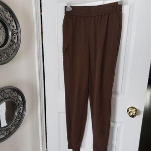 Brown Top Shop cargo pant size 4